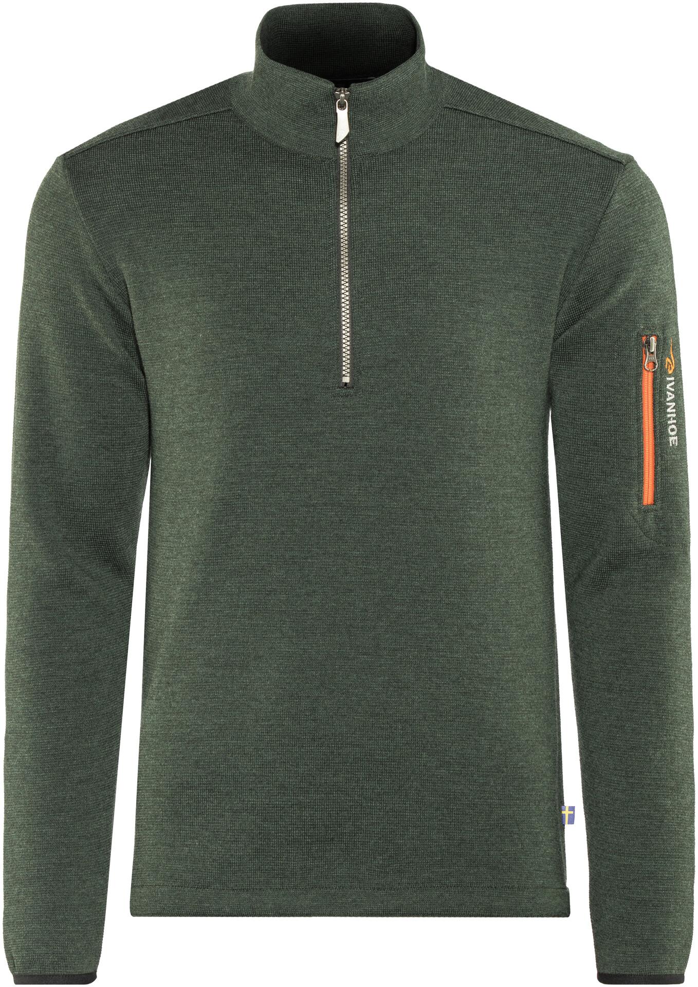 Ivanhoe of Sweden Assar Half Zip Sweater Herren rifle green